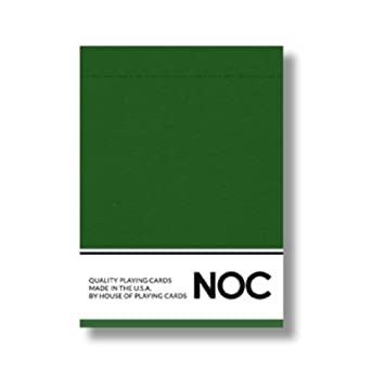 NOC 2017 Playing Cards (Green) Limited Edition Air-Cushion Finish Deck by USPCC