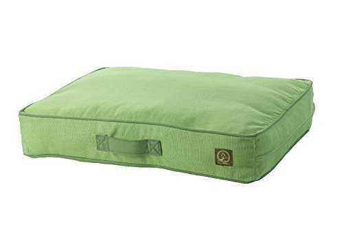 One for Pets Siesta Indoor Outdoor Pillow Pet Bed, Small, Green by One for Pets