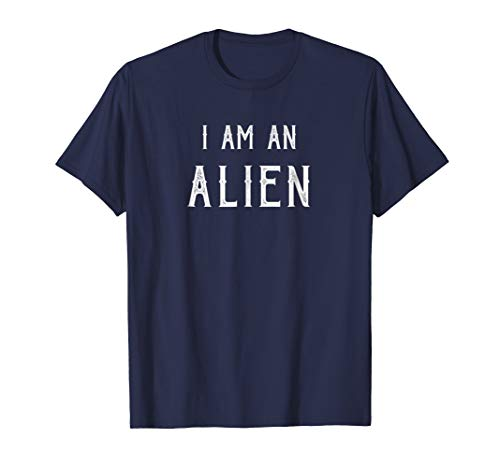 Funny Alien Halloween Costume Shirt Easy Costume