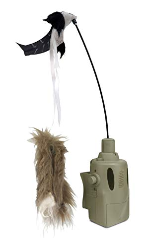(Icotec PD400 Predator Decoy - Lightweight, Compact, and Quiet - Includes Speed Dial, Intermittent Motion, LED Lights, 2 Quick Change Toppers - for Use GC300, GC320, GC350 and GC500)