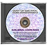 BMV Quantum Subliminal CD Subliminal Learn Bass Guitar: The Bass Player Mind Training (Music Playing Learning Series)