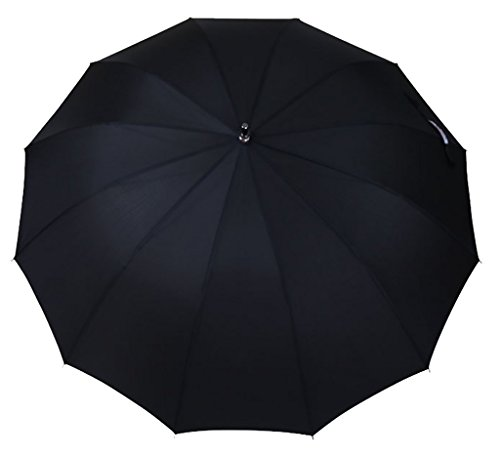 Generic Portable Golf Umbrella Size 54inch Color Black by Generic