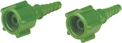 Swivel Barb Hose Nipple - Oxygen Swivel Connector Pk/25 by Complete Medical