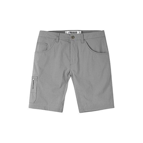 (Mountain Khakis Men's Teton Crest Shorts Slim Fit Smoke 31 10)