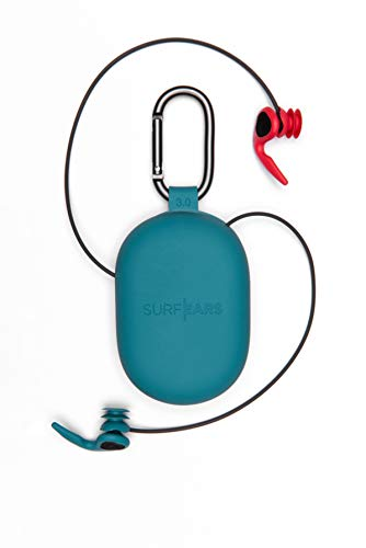 Creatures of Leisure SurfEars 3.0 Surf Ear Plugs - Red Teal - One Size Fits Most