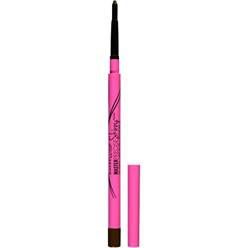 Maybelline New York Eyestudio Master Precise Skinny Eye Pencil, Sharp Brown, 0.0035 Ounce