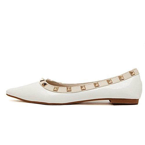 terrain femmes tout AdeeSu en blanc Chaussures pour confort uréthane w1nqUtC
