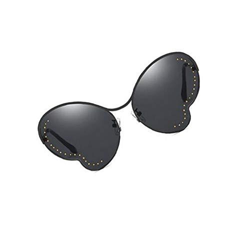 Black lunettes conduite extérieure UV400 protection papillon Mode cadre de des forme soleil FlowerKui unisexe UOqwv