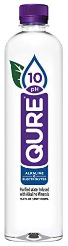 Qure Alkaline Water 16.9