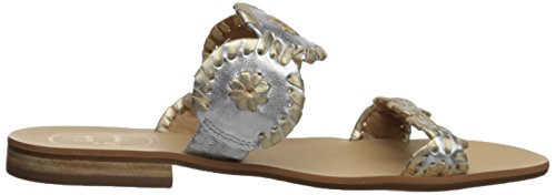 Women's Lauren Silver Jack Gold Dress Rogers Sandal HOqCw1an