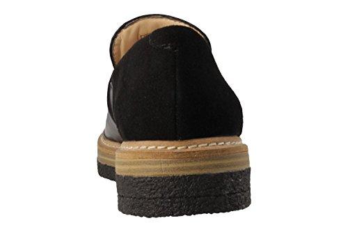 Black Leather Combi Clarks Zante Spring xYfqwZ8z
