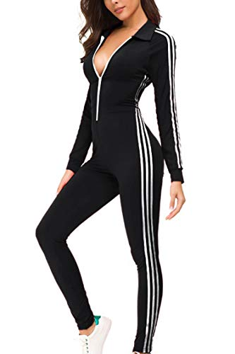 Fashion Sport Suit Hoodie and Pants Sports Tracksuits TOP-MAX Womens Sweatsuits Velour Stripe Jogging Zipped Hoodie