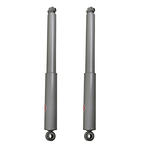 (KYB Gas-A-Just Monotube Shocks Rear Pair for 87-88 Chevrolet R10 Suburban RWD)
