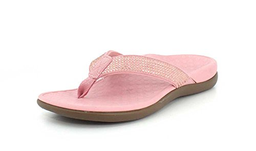 Blush Sandals Vionic Thong Tide Women's Rhinestones x4apFWq