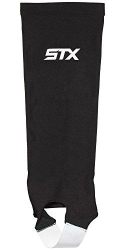 STX Hockey sobre césped Shin Guard calcetines, negro