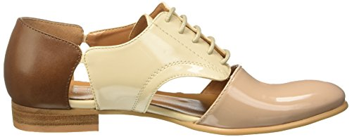 CINTI Sy193-w03 - zapatos Brogue Mujer Multicolore (CuoioBeige)