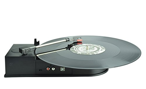 DigitNow! BR612A Portable USB Vinyl Turntable Record to Mp3 CD Converter, Supports Windows/Mac by DIGITNOW