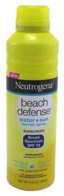 Neut Beach Defense Spry S Size 6.5z Neutrogena Beach Defense