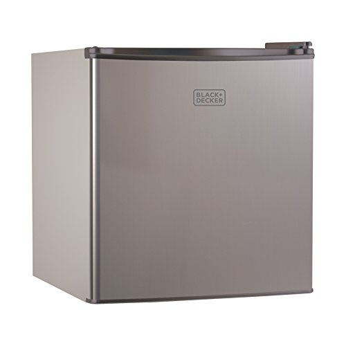 BLACK+DECKER BCRK17V Compact Refrigerator Energy Star Single Door Mini Fridge with Freezer, 1.7 Cubic Ft, VCM