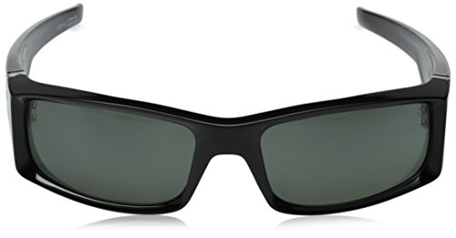 Spy Optic Hielo 670375038864 Polarized Flat Sunglasses, 56 mm (Black/Happy Gray/Green Polar) by Spy (Image #2)