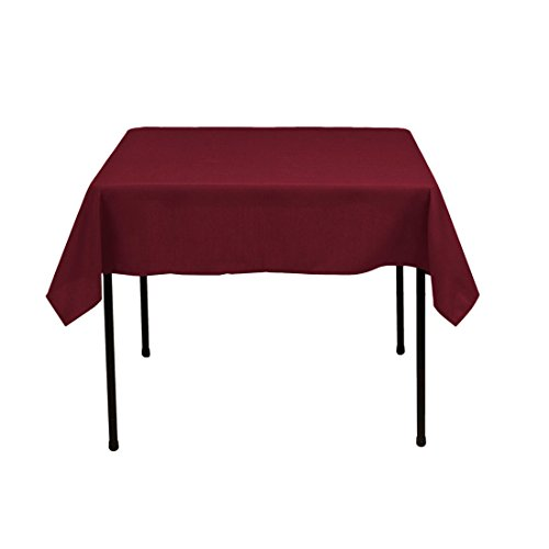 Used, Gee Di Moda Square Tablecloth - 52 x 52 Inch - Burgundy for sale  Delivered anywhere in USA