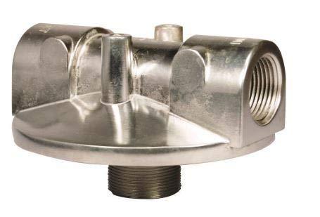 Cim-Tek 1'' NPT Aluminum Mounting Adaptor by CimTek Filtration
