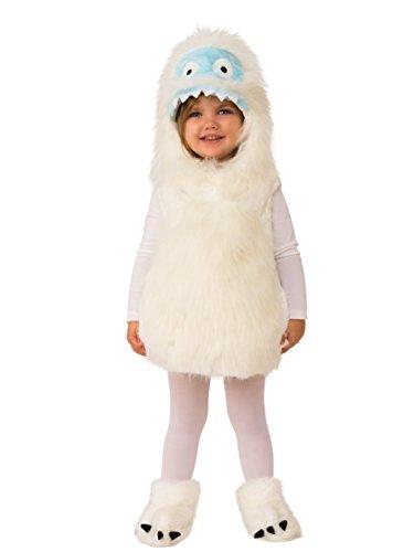 Rubie's Kids Cute Yeti Costume, As Shown, Toddler -