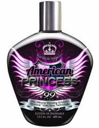 Brown Sugar AMERICAN PRINCESS Tan Incorporated Tanning Lotio