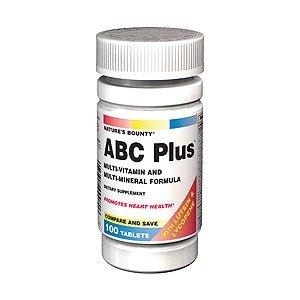 Amazon.com: NB ABC PLUS 70 100TB NATURES BOUNTY: Health & Personal Care