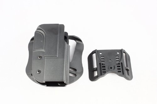 Blade-Tech Revolution OWB Gun Holster with Paddle and ASR Belt Attachment