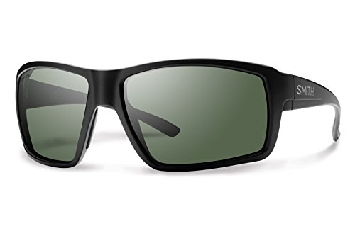 - Smith Optics Men's Colson Chroma Pop Polarized Sunglasses (Gray Green Lens), Matte Black