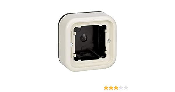 Simon - 31750-31 caja superficie baja 36.5mm s-31 marfil Ref. 6553131150: Amazon.es: Bricolaje y herramientas