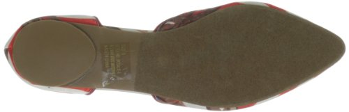 Femmes Label Chaussures 1 C Plates Red Rosalie 86dq65Oxw