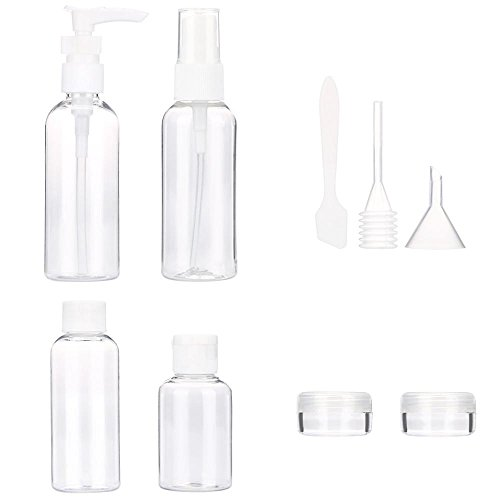 Doinshop-9pcs-Empty-Tubes-Cosmetic-Toiletries-Cream-Travel-Lotion-Containters-Packing-Bottle