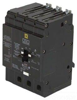 SCHNEIDER ELECTRIC 480Y/277-VOLT 100-AMP EDB34100SA Miniature Circuit Breaker 480Y/277V 100A