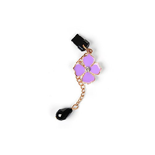 KASOS Dust Plug-Earphone Jack Accessories Bling Shiny Glitter Sparkle Diamonds Rhinestones Gems Tassel/Cell Charms/Dust Plug/Ear Jack iPhone Xs Max iPhone XR iPhone Xs