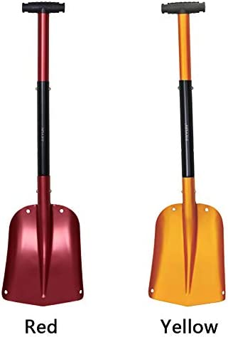 """KYLIN 3-Piece Lightweight Aluminum Sport Utility Snow Shovel,25"""" - 32"""" Portable Collapsible Mud Snow Removal for Car, Camping, Garden"""
