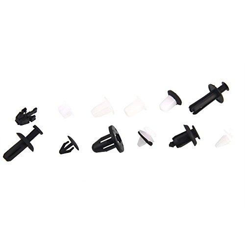 370PCS Automotive Push Pin Retainer Clip Assortment Kit For 1979-1983 Toyota Pickup/Datsun Truck & 1997-2011 Honda Accord & 1995-2014 Acura TL