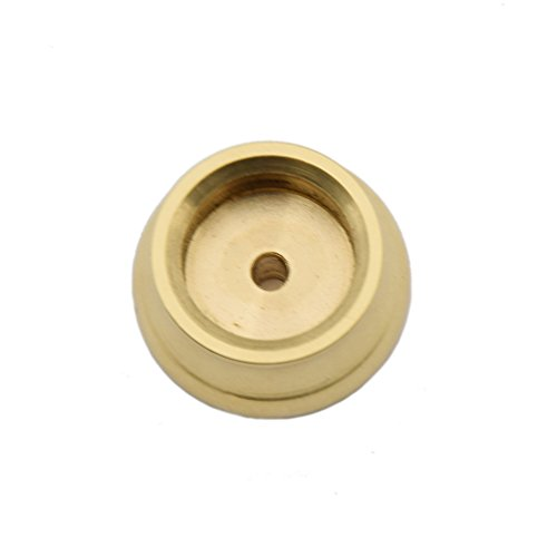 Novelty Incense Burner - Bowl Shape Incense Stick Burner Dual-purpose Brass Incense Cone Holder 1 Pc