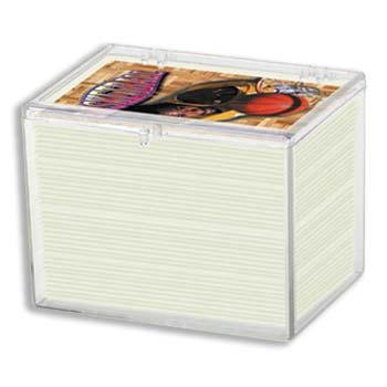 Ultra Pro Hinged 150 Card Storage Box (100/box) by Ultra Pro