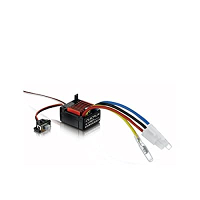 Hobbywing HWI30120201 Quicrun 1060 Brushed ESC (1/10) Toy: Toys & Games