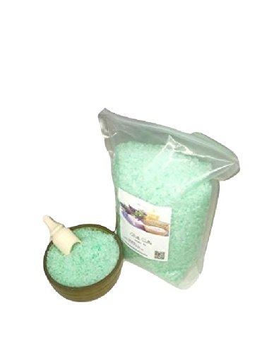 Cucumber Melon Scented Bath Salts: 5lb Bag by Bulk Salts Bath & Body