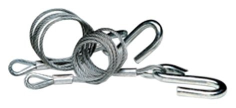 Tie Down Engineering 59539 Class III Hitch Cables - Galvanized