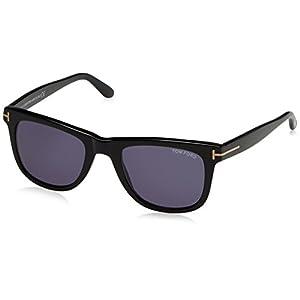 Tom Ford Leo Tf336 Ft0336 Authentic Designer Sunglasses 01v Shiny Blk Glasses