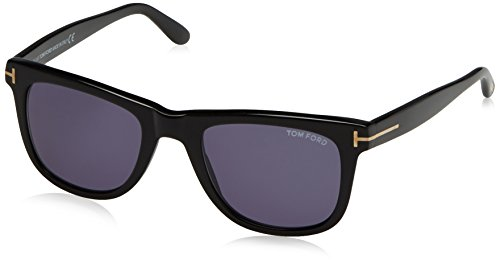 Tom Ford Leo Tf336 Ft0336 Authentic Designer Sunglasses 01v Shiny Blk - Men Accessories Ford Tom