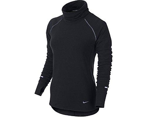 Nike Womens Dri-FIT Sprint Fleece Running Pullover Black X-Large 627001-010