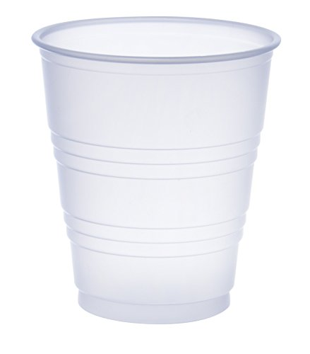 Dart Y5 5 oz Trans Ribbed Wall PS Cup (Case of (Dart Conex Clear Cup)