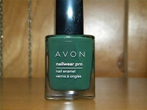 Nailwear Pro+ Nail Enamel - Nailwear Pro Nail Enamel Olive Green By Avon