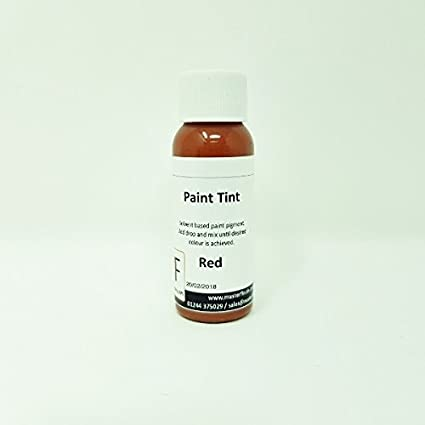 Paint Tints for 1k-2k-Cellulose Paints. Solvent Based (Whte) Master Finish by APS