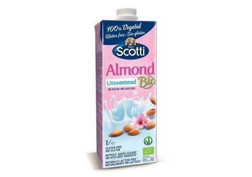 Bebida de Almendras sin azúcar BIO Scotti, 1 L: Amazon.es ...